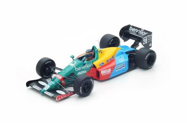 スパーク 1/18 ベネトン B188 T.ブーツェン 1988年カナダGP3位 No.20