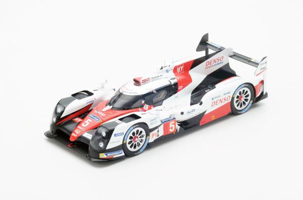 スパーク 1/18 TOYOTA(トヨタ) TS050 Hybrid  LMP1 HY 2016年ルマン24時間 No.5 A.デビッドソン-S.ブエミ-中嶋一貴