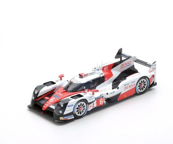 スパーク 1/18 TOYOTA(トヨタ) TS050 Hybrid LMP1 HY 2016年ルマン24時間レース2位 No.6