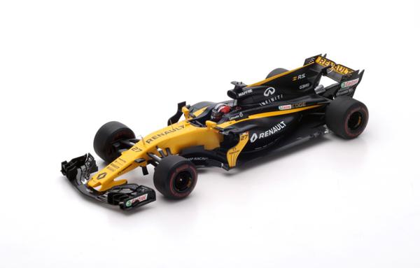 スパーク 1/18 ルノー F1 RS17 N.ヒュルケンベルグ 2017年バーレーンGP No.27