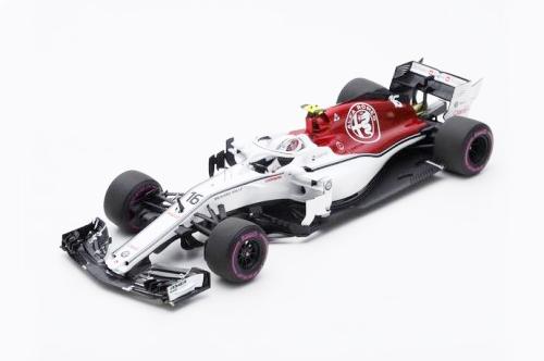 スパーク 1/18  ザウバー F1 C37 C.ルクレール 2018年アゼルバイジャンGP No.16