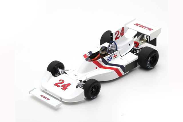 スパーク 1/18 ヘスケス 308 J.ハント 1975年ダッチGP優勝 No.24