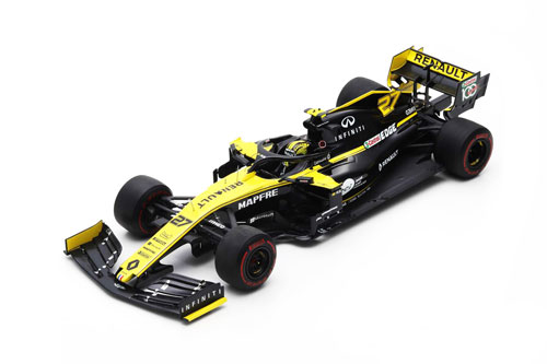 スパーク 1/18 ルノー F1 R.S.19 N.ヒュルケンベルグ 2019年オーストラリアGP No.27