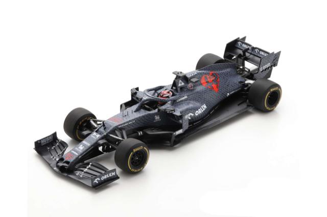 スパーク 1/18 アルファロメオ F1 C39 K.ライコネン 2020シェイクダウンテストNo.7