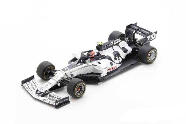 スパーク 1/18 アルファタウリ・ホンダ AT01 P.ガスリー  2020年イタリアGP優勝 No.10