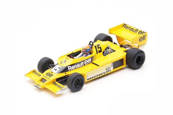 スパーク 1/18 ルノー RS01 J.P.ジャブイーユ  1979年南アフリカGP  No.15