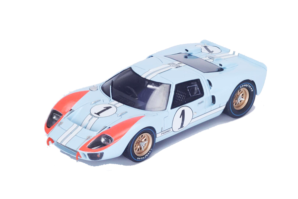スパーク 1/18 フォード Mk II 1966年ルマン24時間レース2位 K.マイルズ-D.ハルム No.1