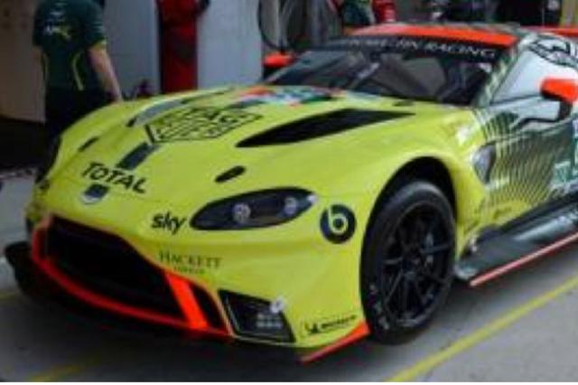 【2021年3月発売予定ご予約商品】当店オリジナル特典付  スパーク 18S558 1/18 アストンマーチン バンテージ AMR Aston Martin Racing  2020年ルマン24時間レースLMGTE Pro class3位 No.95