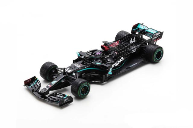 【2021年4月発売予定ご予約商品】スパーク 18S567 1/18 メルセデス F1 W11 L.ハミルトン 2020年トルコGP優勝 World Champion Edition With Pit Board No.44