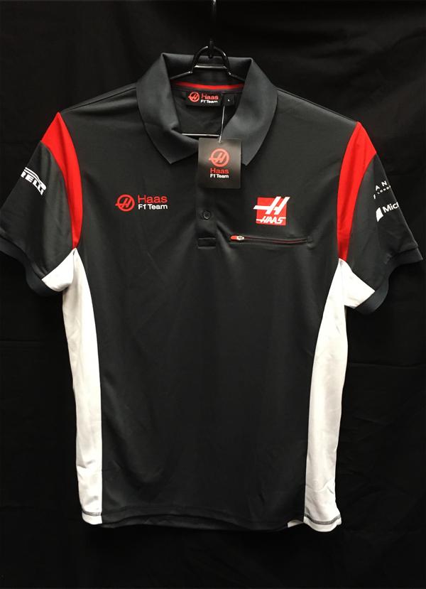 ハースF1チーム 2017 チーム支給品 ポロシャツ新品タグ付 サイズL(A)
