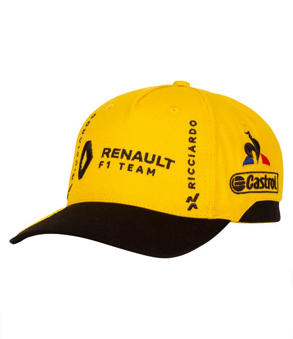 2019 ルノー F1チーム D.リカルド ドライバーズキャップ