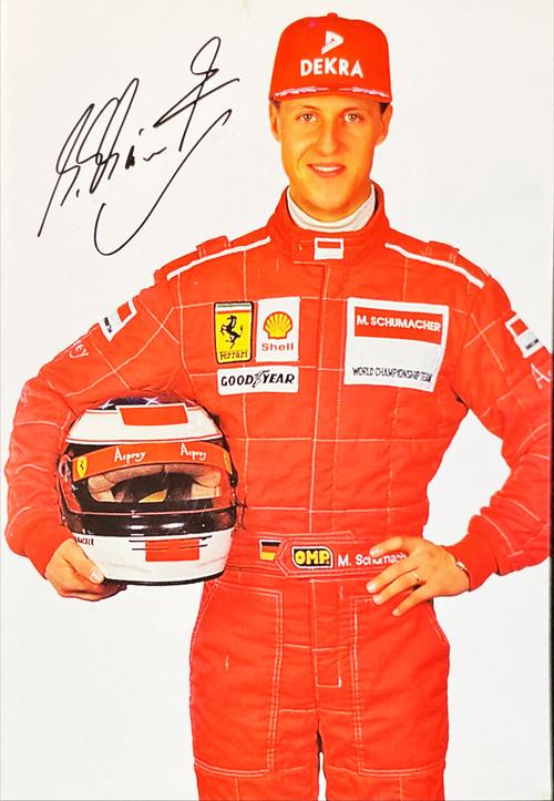 フェラーリ 1996 M.シューマッハ DEKRA スポンサーカード