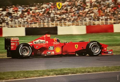 フェラーリ 2000 M.シューマッハ マシンカード