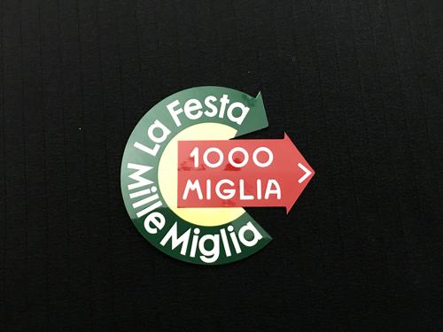 ミッレミリア 1000 公式ステッカー