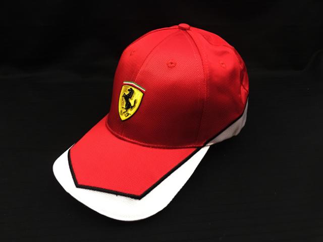 フェラーリ(FERRARI F1) F1パドッククラブ ゲスト用 SFキャップ レッド×ホワイト SF小