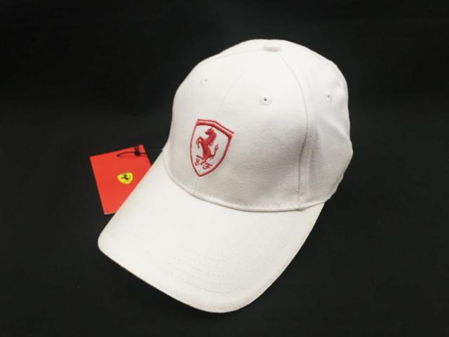 フェラーリ(FERRARI F1) F1パドッククラブ ゲスト用 SFキャップ ホワイト