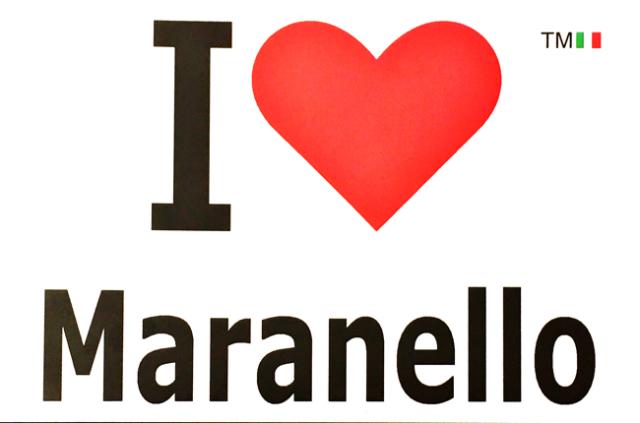 I Love Maranello(アイ・ラブ・マラネロ)ポストカード