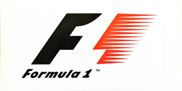 フォーミュラ1 1993~2017 ロゴステッカー
