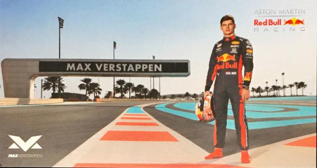 【再入荷】レッドブル ホンダ F1 2019 M.フェルスタッペン ドライバーズカード