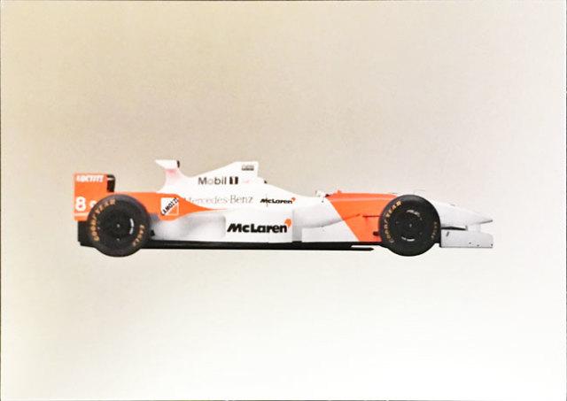 メルセデスミュージアム限定マクラーレン メルセデス MP4-11 1996 マシンポストカード