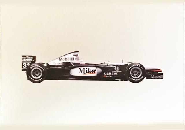 メルセデスミュージアム限定マクラーレン メルセデス MP4-16 2001 マシンポストカード