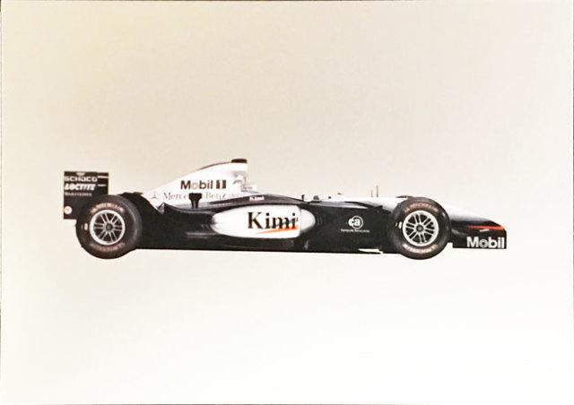 メルセデスミュージアム限定マクラーレン メルセデス MP4-17 2002 マシンポストカード