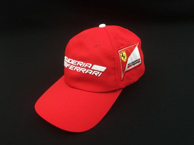 フェラーリ(FERRARI F1) F1パドッククラブ ゲスト用 SFキャップ レッド TYPEA