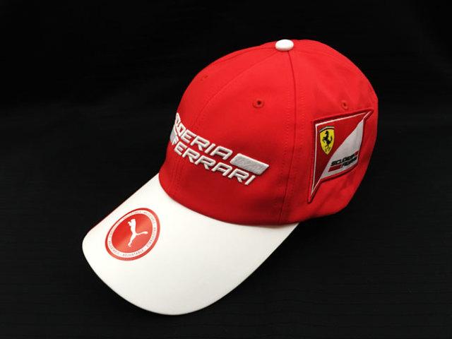 フェラーリ(FERRARI F1) F1パドッククラブ ゲスト用 SFキャップ レッド TYPEB