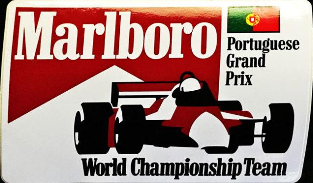 マルボロ 1980年代 ポルトガルGP プロモーションステッカー