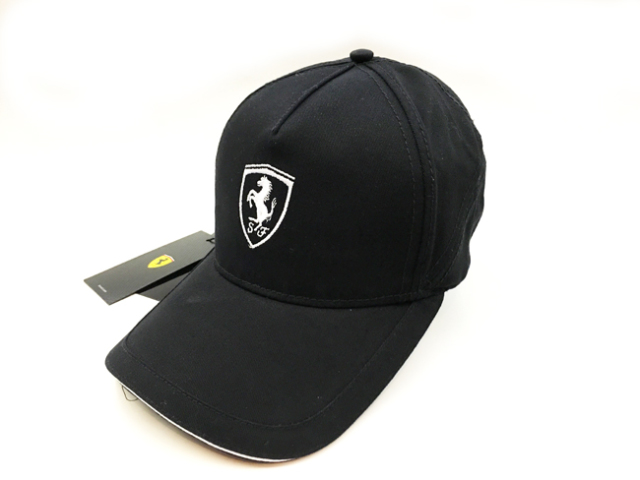 フェラーリ(FERRARI F1) F1パドッククラブ ゲスト用 SFキャップ ブラック