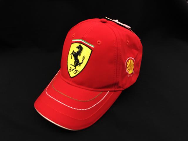 フェラーリ(FERRARI F1) F1パドッククラブ SHELLゲスト用 SFキャップ レッド