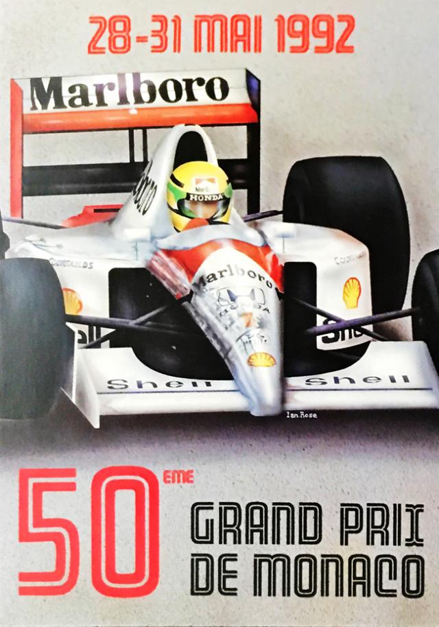 1992年F1モナコGP 公式カード