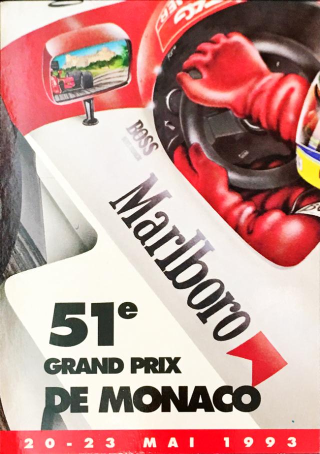 1993年F1モナコGP 公式カード