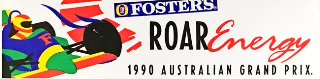 オーストラリアGP 1990年 公式ステッカー