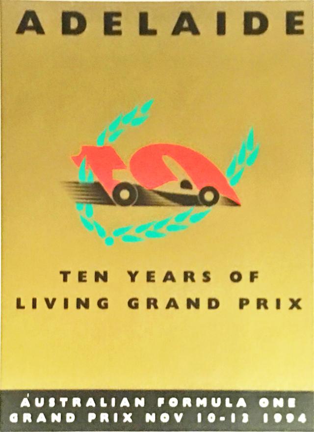 オーストラリアGP 1994年 公式ステッカー