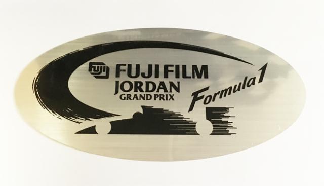 FUJIFILM JordanGrandPrix(富士フィルム ジョーダングランプリ)プロモーションステッカー