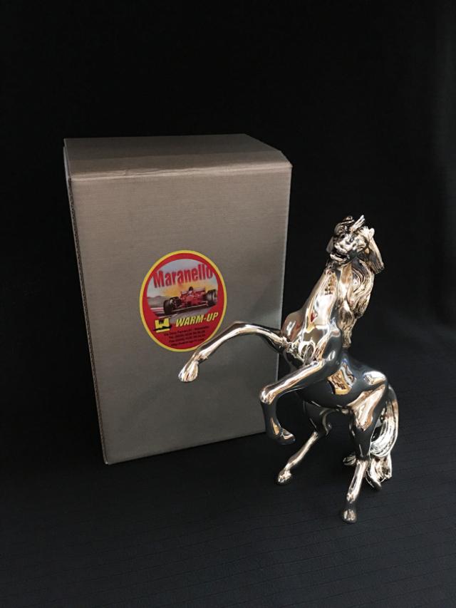 マラネロ ウォームアップ プラッシングホース オブジェ(大) ART Be イタリア製 ※サイズ:高さ20cm