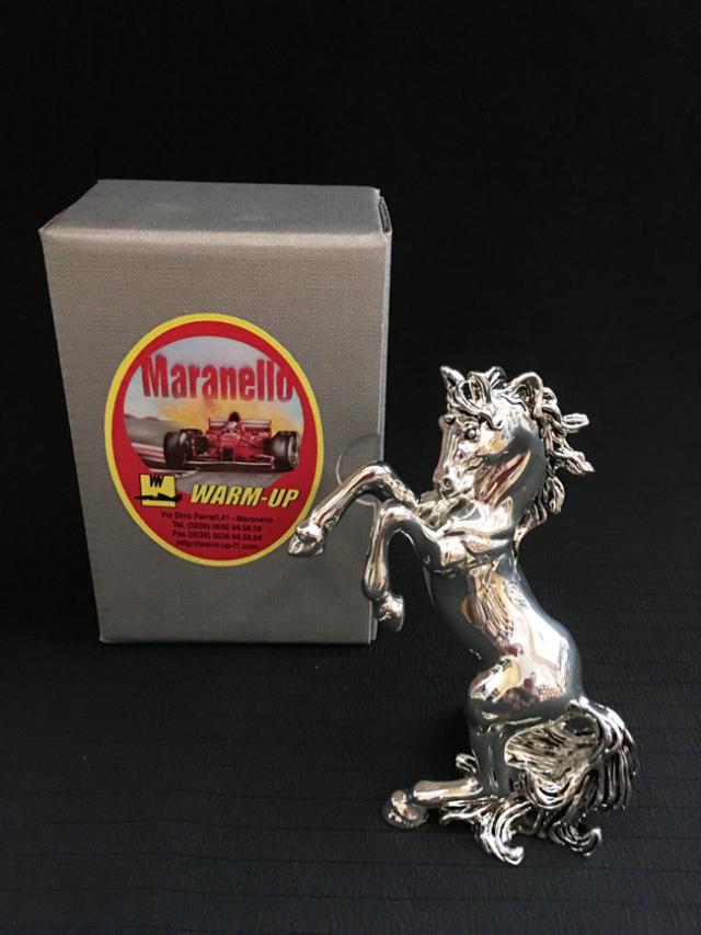 マラネロ ウォームアップ プラッシングホース オブジェ(小) ART Be イタリア製 ※サイズ:高さ11.5cm