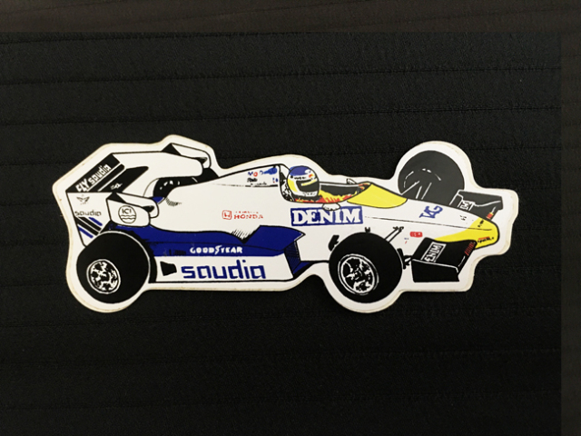 ウィリアムズ F1 1980年代初期 マシンステッカー