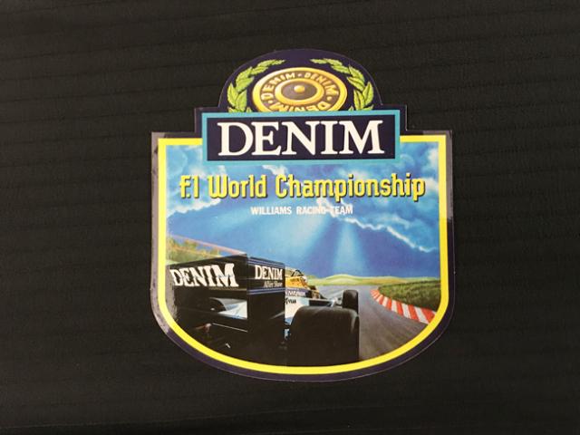 DENIM ウイリアムズ F1 プロモーションステッカー(A)