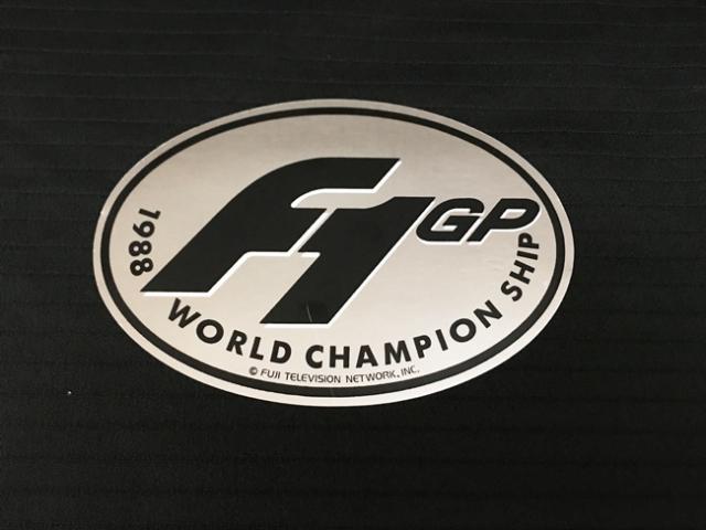 FUJI TV(フジテレビ)1988年 F1ワールドチャンピオンシップ ステッカー