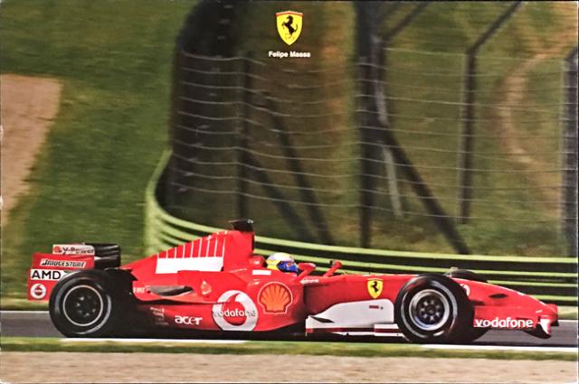 フェラーリ(FERRARI F1) 2006 F.マッサ マシンカード
