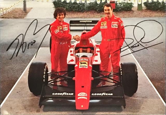 フェラーリ(FERRARI F1) 1990 A.プロスト & N.マンセル ファクトリーカード