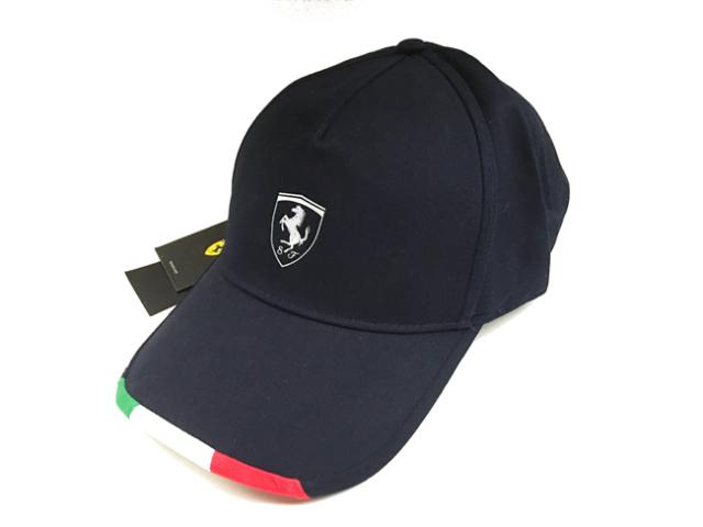 フェラーリ(FERRARI F1) F1パドッククラブ ゲスト用 シルバーSFキャップ ブラック