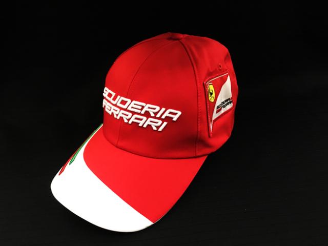 フェラーリ(FERRARI F1) F1パドッククラブ ゲスト用 ロゴキャップ