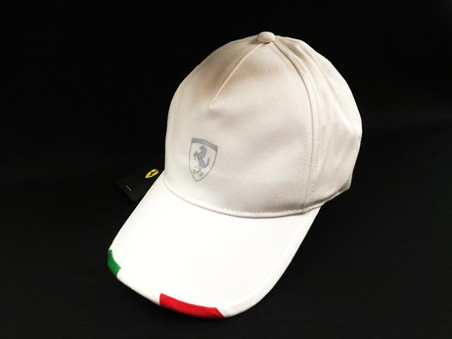 フェラーリ(FERRARI F1) F1パドッククラブ ゲスト用 シルバーSFキャップ ホワイト