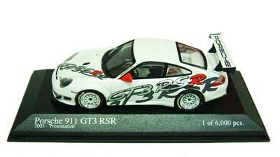 1/43 ポルシェ 911GT3 RSR 2003プレゼンテーション ホワイト