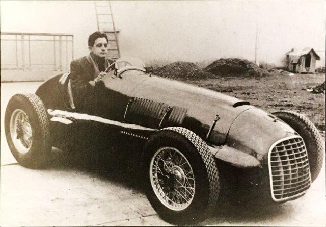 アルフレード(ディーノ)・フェラーリ 限定ポストカード