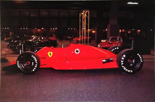 フェラーリ 637 幻のインディカー 公式フォトポストカード