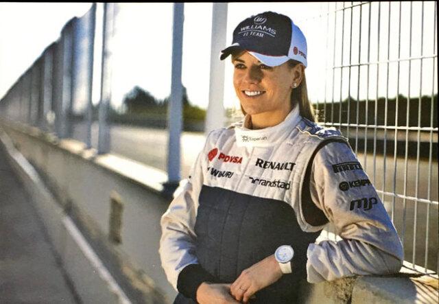 スージー・ヴォルフ ウィリアムズ時代 ドライバーズカード(サイン無)